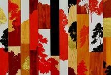 RIKUJI MAKABE / Japanese artist - paints with a birds-eye-view technique that is reminiscent of ancient JAPANESE Rakuchu-rakugai painting
