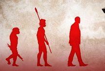 Cartoons on evolution