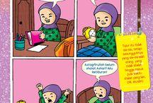 Moslem kids comic