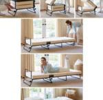 fold out bed ottoman