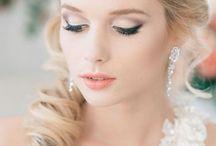 Smink // Make-up / Visszafogott, élénk, szemet gyönyörködtető - az esküvői, illetve menyasszonyi sminkek színe-java. // #makeup #bride #wedding