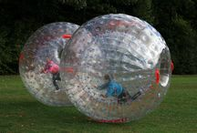 Human Hamster Balls! / Roll at your own risk!