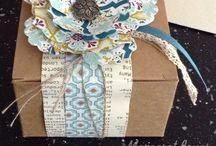 Stampin' up boxes  / by Sasha Christmas