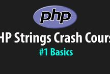 PHP Strings Tutorials / PHP tutorials for beginner programmers who wish to learn about PHP string manipulation. These tutorials cover the basics of string functions in PHP as well showing how to alter, count and concatenate strings.