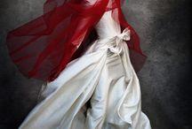 The white dress...