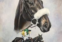 2017 Art Race Horses