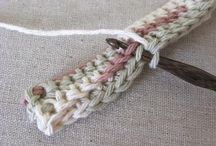 Crochet stof / Stof for the kitchen, baskets, and other practical stuff