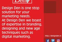 Design Den Media Pvt. Ltd. / Design Den is one stop solution for your marketing needs. At Design Den we boast of expertise in branding, designing and new age techniques such as digital marketing.