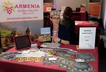 BTE 2016 / Armenia Hospitality & DMC at BTE Brusseles Travel Expo 2016