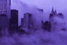 aesthetic, purple