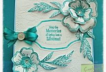 Sheena Douglass inspired / Cards etc using Sheena Douglass products and ideas
