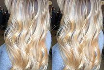 Light Blonde / Platinum Hair / Platinum Blonde Hair Takes At Least 3 Stages From Very Dark Ethnic Hair Using Magic Lightener Or Keune Lightener.