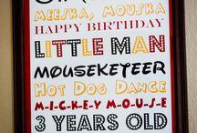 Dominic's Birthday Party Ideas