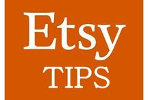 Etsy Tips / Helpful tips for a successful Etsy shop.