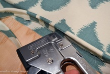 upholster it / by Tricia Harris ~ Cottage Appeal Designs