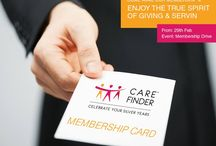 Our 1st Membership Drive / Announcing Carefinder's Membership Drive, Commences from February 29th.