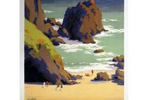 Cornwall / All of our Vintage Rail Posters from Cornwall!