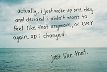 Quotes / by Haley McConnaughey