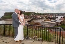 Whitby Wedding Photographer / Wedding photography photographed in the beautiful historic town of Whitby on the North Yorkshire Coast in the UK.