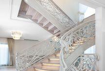 MARCHEWKA schody / schody