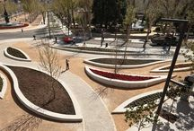 Proj. Paisagismo / Referências de praças e parques para desenvolvimento de projeto.