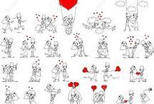 obrázky na milování