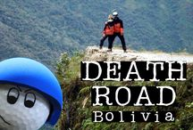 Death Road Bolivia / Visit the famous #DeathRoad near #LaPaz in #Bolivia - the most dangerous road in the world! #Downhill #biking extreme!