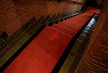 Luminous Carpets / Light transmissive LED Carpets by Philips/Desso