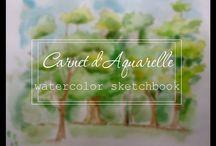 Watercolor / Watercolor sketches