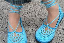 crochet chaussures