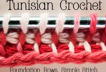 Tunisian crochet (hakking)