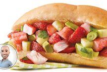 salade de ( fraises)