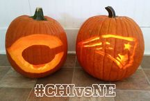 Pats Pumpkins & Halloween Inspiration / Submit your photo's via Twitter & Instagram using #PatsPumpkin & #PatsHalloween / by New England Patriots