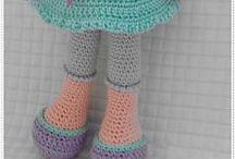 poupées aux crochet
