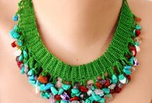 collane perle e crochet