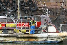 North Berwick Harbour / Lobster fishing at North Berwick Harbour