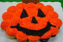 Halloween baking