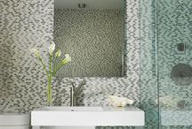 Small Bathrooms / What can you do with such a small space? You'd be surprised. / by Donna Rucker Godfrey