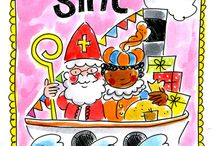 Toddler Sinterklaas activity