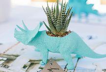 dinomite / inspiration for a modern dinosaur party...roar!