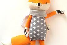 Heirloom dolls - soft toys