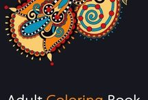 Adult Coloring Books / For Stress Relief