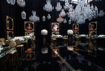 Indoor Crystal Night Reception