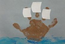 statek- dłoń