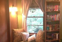 Reading Nooks / Beautiful, romantic places to read