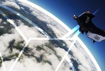 UK Wingsuit flight.