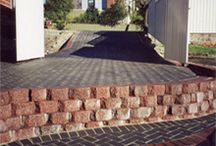 Retaining Walls Services Adelaide / At BrightOn Landscaping we specialise in retaining walls, steps and pool areas all over Adelaide. Ask us for a Quote today!