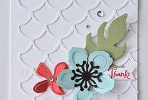 Stampin Up Striped Scallop