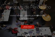 Behind the Scenes Hangouts de Periodismo
