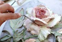 fiori di cartapesta